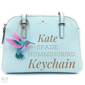 Kate Spade Hummingbird Keychain Bag Charm